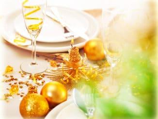 nyårsfest dukning nyårsmiddag