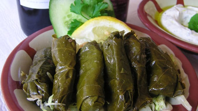 plockmat libanesisk