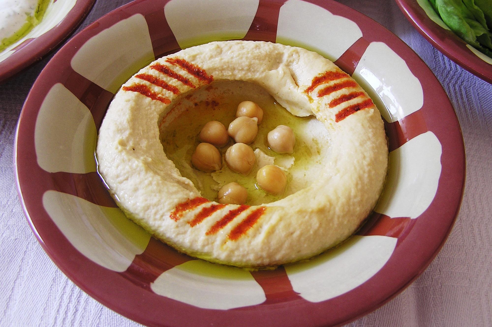 12 libanesiska meze Fira fest