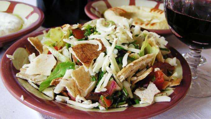 libanesisk mat recept