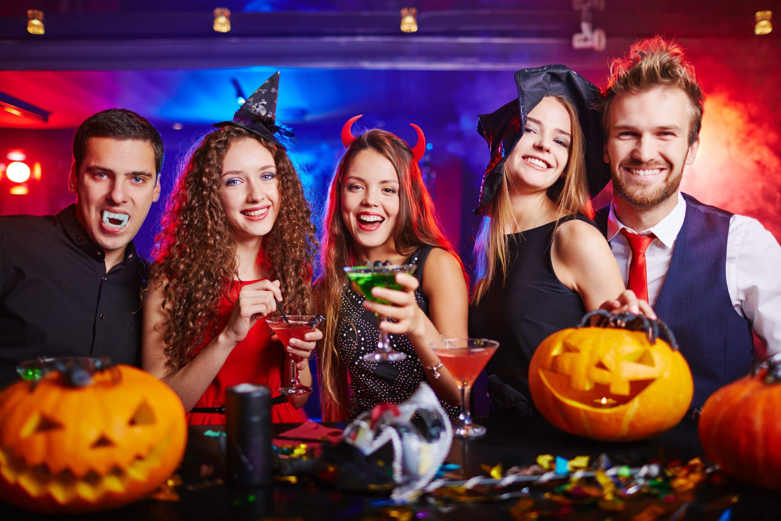 Halloween at nightclub