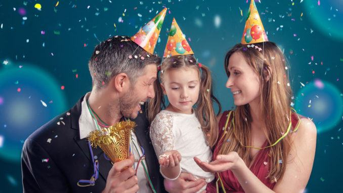 nyårsfest barn