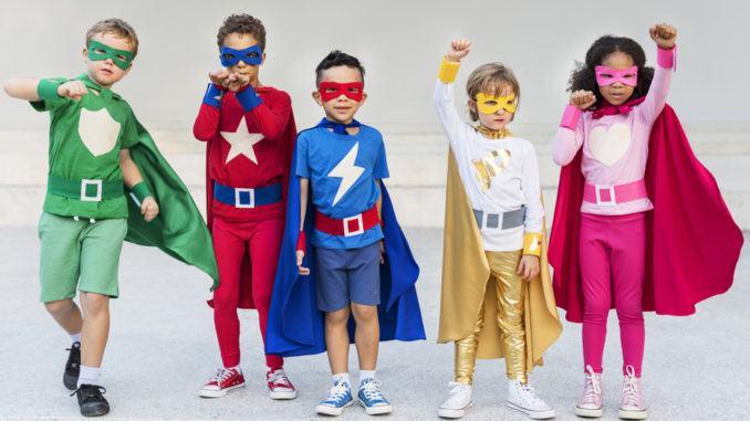 barnkalas superhjältar