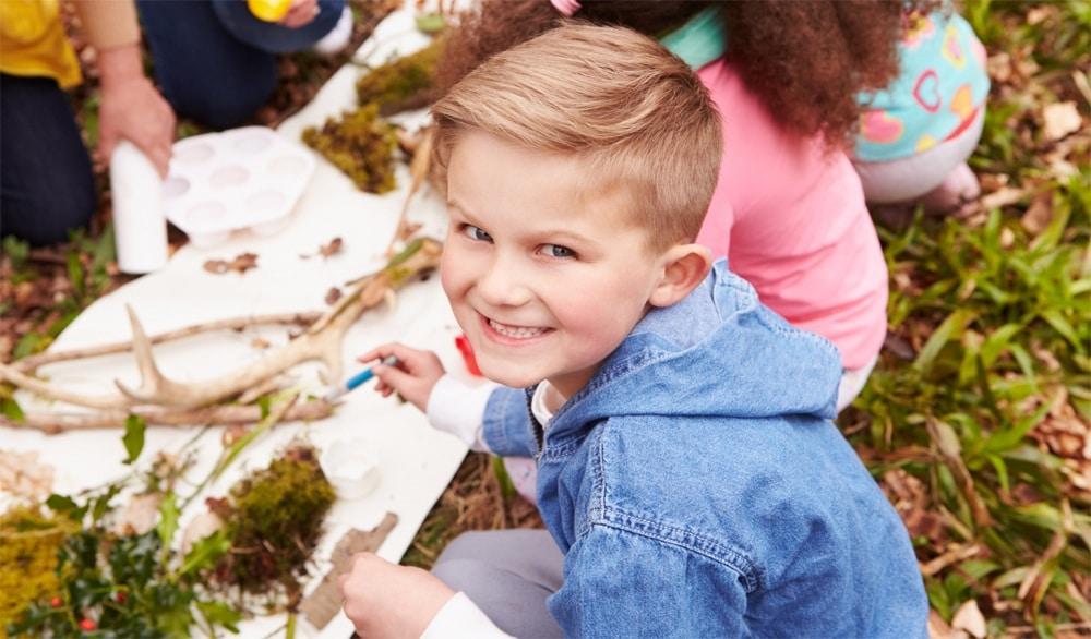 utomhuslekar för barn