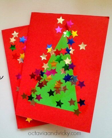 10-Easy-Christmas-Cards-for-Toddlers-to-Make