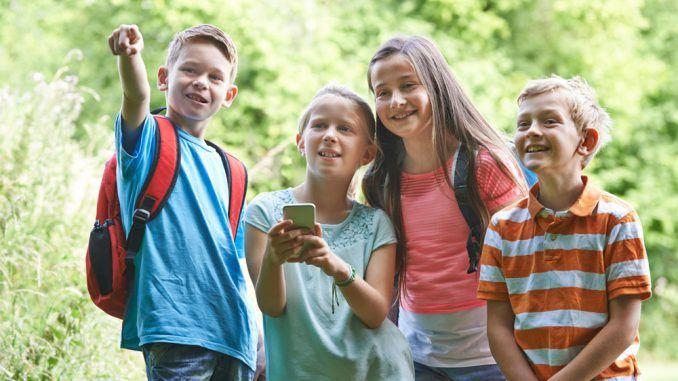 utomhusaktiviteter för barn