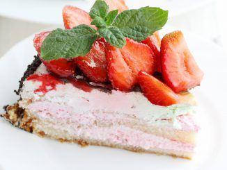sommar tårta