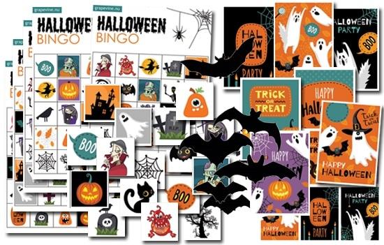 halloween pyssel skriva ut