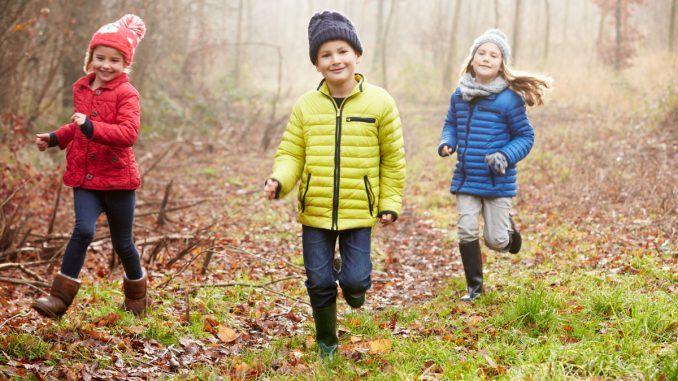 aktivitet ute barn